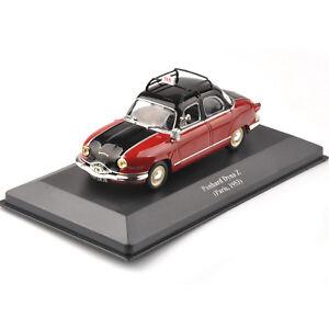 IXO 1/43 Scale Panhard Dyna Z Paris, 1953 Taxi Diecast Display Vehicles Car Toy