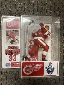 "6"" RED Johan Franzen 93 NHL 2005 Stanley Cup Detroit Red Wings Custom McFarlane"