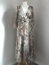 NOUGAT Dress Size 3 (12) 100% Silk Floral Delicate Boho Vintage Style