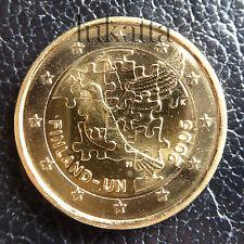 2 euro commemorativo FINLANDIA 2005 - 60° ONU - Oro 24 k - FDC/UNC