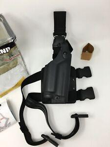 Safariland 6005 SLS Tactical STX Black Leg Holster RH for SIG P229R DAK w/ LIGHT