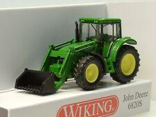 Wiking John Deere 6820S mit Frontlader - 0958 38 - 1/160