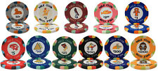 New Bulk Lot 500 Nile Club 10g Casino Quality Ceramic Poker Chips - Pick Chips!