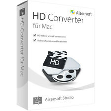 HD Video Converter MAC Aiseesoft dt.Vollvers. -lebenslange Lizenz ESD Download