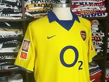 ARSENAL away 2003-04 shirt - BERGKAMP #10 - Ajax-Inter Milan-Holland-Jersey
