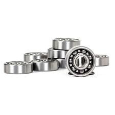 8* Skateboard Bearings ABEC 9 for Fidget Spinner Replacement Chrome Steel Black