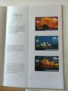 Sydney Opera House Limited Collector's Edition Phonecard Pack