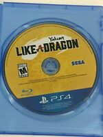 Yakuza: Like A Dragon for PlayStation 4 / PS4 / Disc Only / Yakuza 7