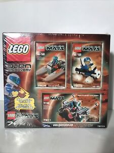 Lego Alien Discovery Life on Mars 7308 7309 7311 Hover Rover Planet Cruiser Set