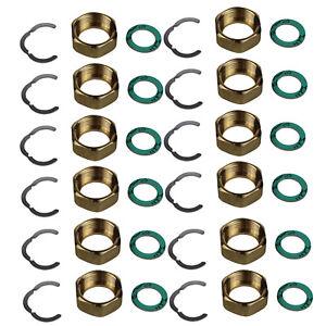 "Verschraubung Fittingsatz Montage Set 3/4"" Edelstahl Wellrohr DN16 Solar"