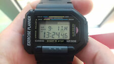 Casio VINTAGE COLLECTION EXP-10-1 EXERCISE PLANNER NOS RARE WATCH MONTRE JAPAN C