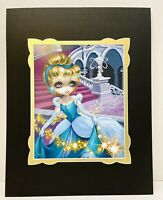 NEW Disney Cinderella Leaving The Ball Jasmine Becket-Griffith Fine Art Print
