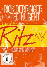 DVD Rick Derringer feat Ted Nugent Live à Ritz New York