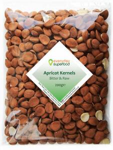 Apricot Kernels 200g Natural Raw Apricot Seeds UK Supplier Kernel - LATEST CROP