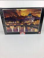 Educa 2000 Piece Jigsaw Puzzle San Angelo Bridge Rome Brand New 14447