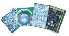 Pack of 4 Illustrated Elephant Art Design Birthday Greetings Cards (Set 10)