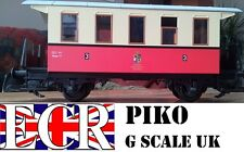 NEW PIKO G SCALE  CARRIAGE GARDEN LGB BACHMANN COMPATIBLE ELECTRIC TRAIN SET RED