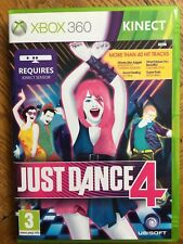 Just Dance 4 Kinect (unsealed) - Xbox 360 UK New!