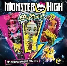 CD * MONSTER HIGH - Elektrisiert - Das Original-Hörspiel zum Film  # NEU OVP &