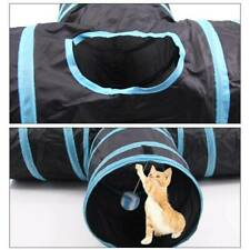 Collapsible Cat Tunnel Tube Interactive Indoor Cats Peephole Kitten Pet cat Toys