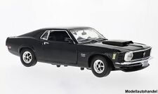 Ford Mustang Boss 429 schwarz 1970 - 1:18 Motormax