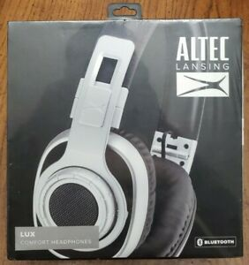 Altec Lansing LUX Comfort Headphones Bluetooth MZX757-BLSL