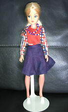 More details for beautiful ooak pedigree sindy doll rerooted doll in 1976 mix n match 44231