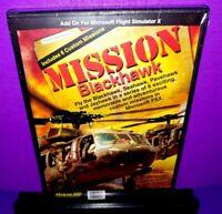 Mission Blackhawk PC CD ROM Add On Microsoft Flight Simulator X Brand New B575