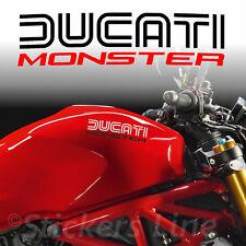 2 Adesivi serbatoio DUCATI MONSTER - Hold Style - motorcycle tank stickers MOD.3