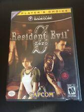 Resident Evil Zero - ( Nintendo Gamecube , 2002  ) Complete W/box & Manual !