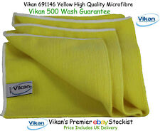 Vikan Microfibre Cloths High Quality Yellow Microfiber Towels Cleaning Cloth