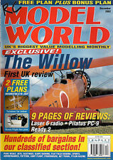 FREE PLAN DRAWING - TWINDOOR 33 inch Span Drawing - RC MODEL WORLD December 2002