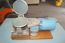 Hoover Automatic Muller Model 4B laboratory pigment dispersing device