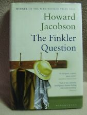 Howard Jacobson : The Finkler Question. Bloomsberry 1st edition (hardback 2010).