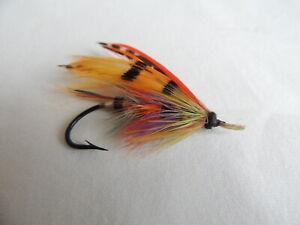 Vintage 1/0 Gut Eyed Salmon Fly.