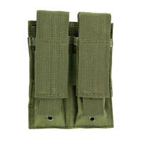 MOLLE 2 Pocket GREEN Magazine Mag Pouch fits Hk P2000 P30 VP9 VP40 USP Pistols