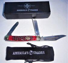 AMERICA TRADES STOCKMAN KNIFE