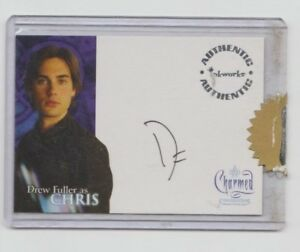 Charmed Autograph Trading Card Drew Fuller as Chris #A-3