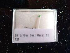 Dual Abtastnadel DN 5-78, Wendenadel, Stereo + Schellack