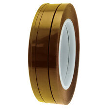 Pack of 4 Ultra High Temp Polyimide Fine Line Tapes- Sizes 3.5, 6.5, 10 & 12.7mm