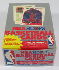 1989-90 Hoops Basketball Series 2 Wax Box * Jordan