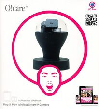 Ozaki O!Care Wireless Drahtlose IP Kamera Schwarz für iPad iPhone iPod Touch NEU