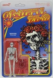 Super 7 Grateful Dead ReAction Figure Bertha Skeleton