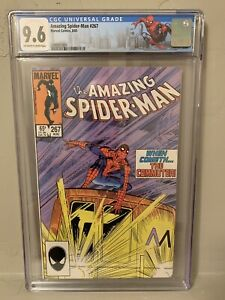 Marvel The Amazing Spider-Man #267 CGC 9.6 1st Commuter NM+ NY City Label
