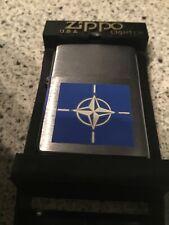ZIPPO 1997 NATO EMBLEM (Navy)