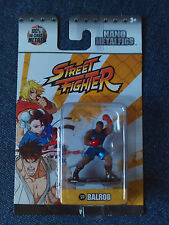 NANO METALFIGS Street Fighter Balrog Capcom Figure 100% Die-Cast by Jada