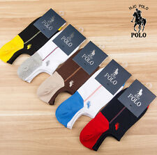 Men Cotton socks POLO 5 Pairs/lot Athletic Soft Casual breathable No-Show Socks