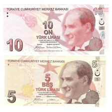 Turkey, 5+10 Lira 2009 (UNC) #1344