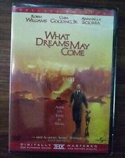 What Dreams May Come Dvd New/ Robin Williams, Cuba Gooding Jr. Annabella Sciorra