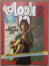 LOOK IN MAGAZINE 1 MAY 1982 #18 CLIFF RICHARD